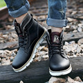 ZNPNXN Autumn Ankle Boots For Men Shoes Cow Split Leather Boots Men Boots Military Botas Zapatos Hombre 2016