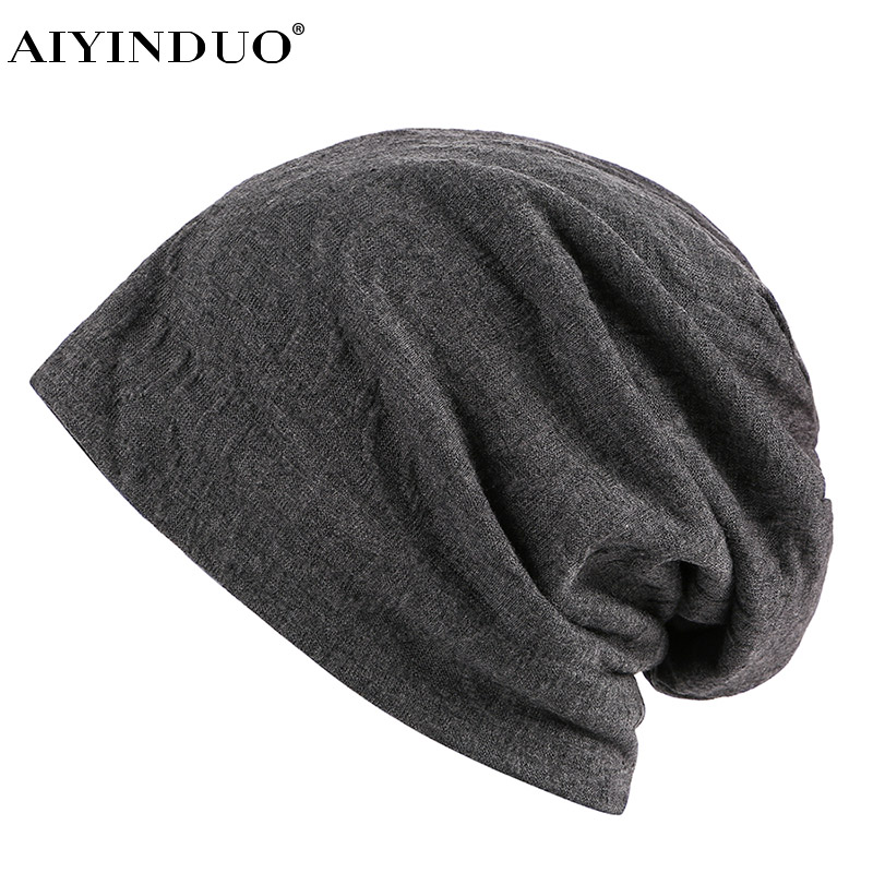 AIYINDUO HIGH QUALITY 2017 brand men women Hat Unisex Warm Winter knitted hat classic design cap Hip-hop Beanies cheap hat