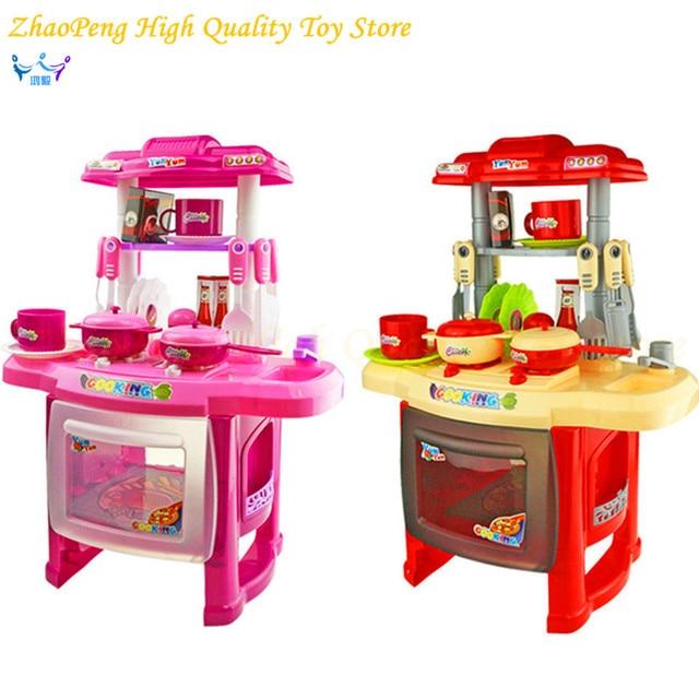 Bambini cucina giocattolo per le ragazze cucina toys bambini giochi ...