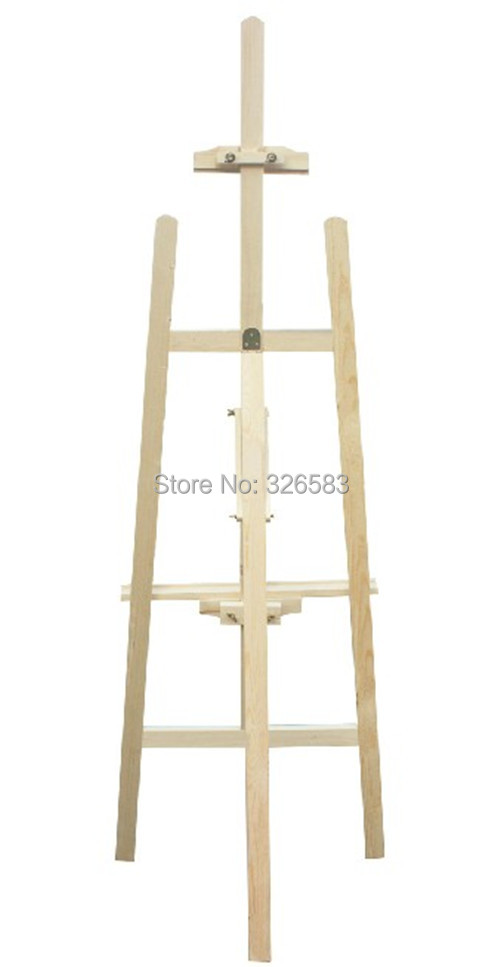 1.5 mètre chevalet en bois pin chevalet véritable bois chevalet art croquis planche à dessin cadre croquis sans plaque juste cadre comme photo spectacle