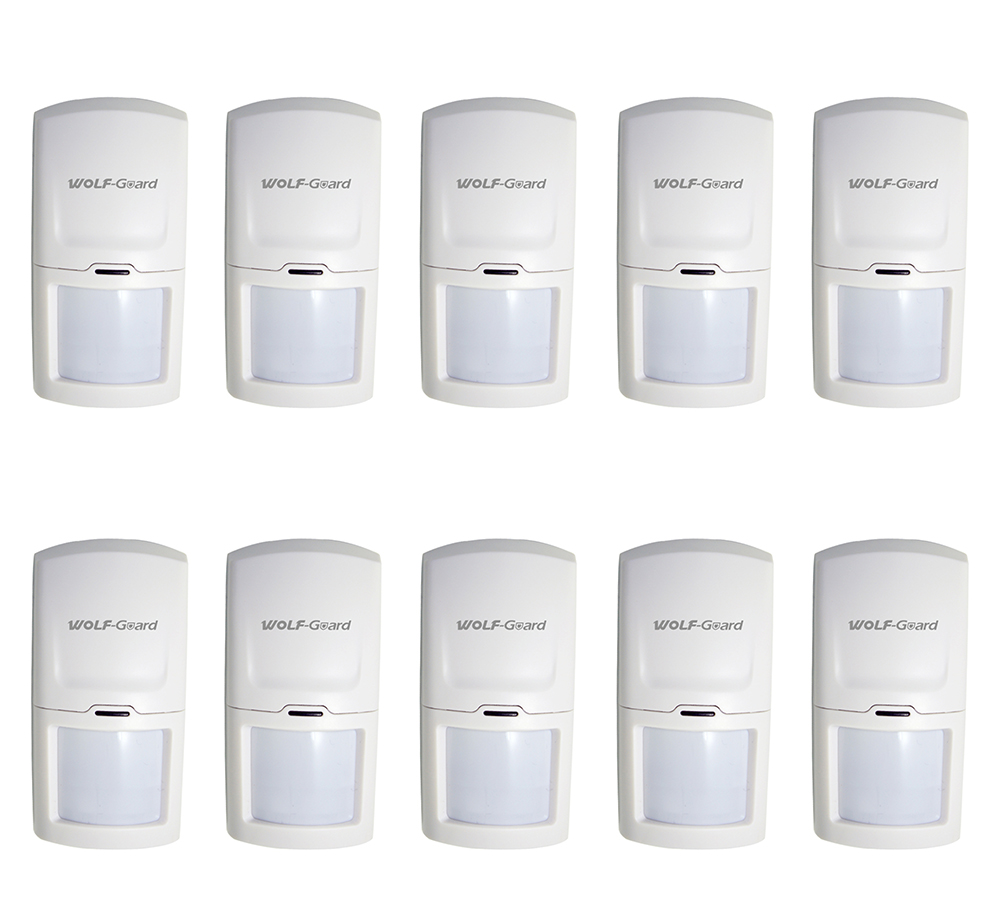 1/2/4/6/8/10 Lots Wolf-Guard Wireless PIR Motion Sensor Detector For Home Security Alarm Burglar System HW-03D