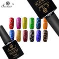 Saviland 1pcs Soak Off Crack Pattern UV Nail Gel Lacquer Varnish Long Lasting Crackle Cracking Shatter Nail Polish