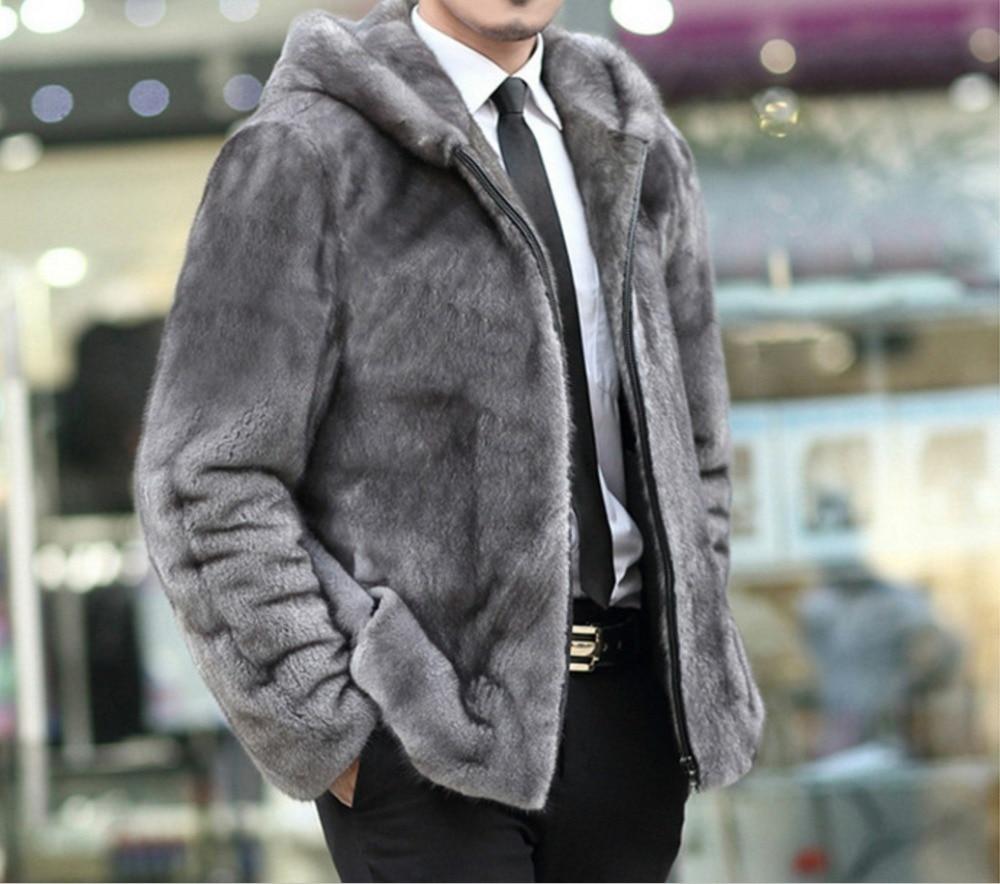 Online Get Cheap Leather Jacket Grey Hood -Aliexpress.com ...