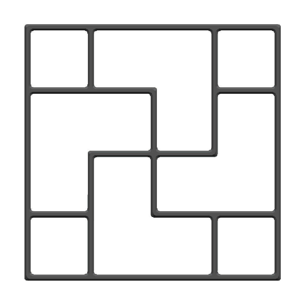 Image 5 - Concrete Molds  New European and American Cement Floor Tiles DIY Paving Lawn Low Mold for garden molde para cemento suelo-in Paving Molds from Home & Garden
