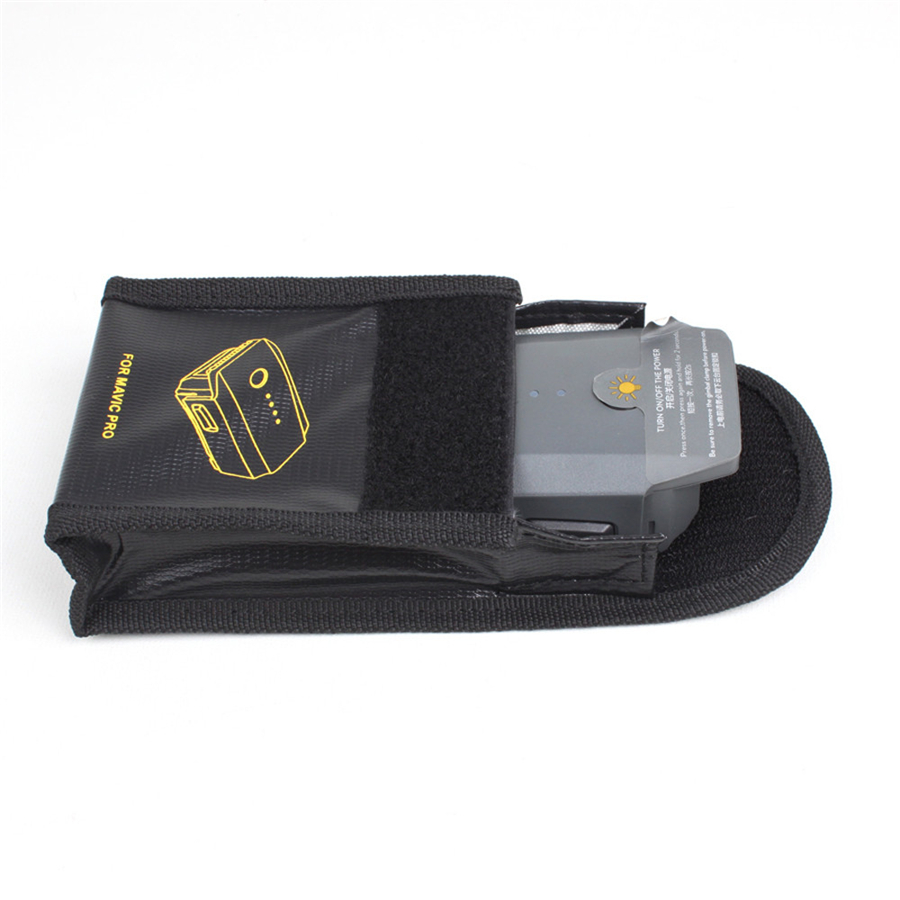 Battery Fireproof Explosionproof Storage Bag Case Safety For DJI Mavic Pro Safe Charging Protect Remote Control Drop Shipping