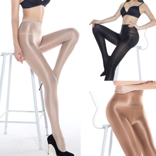 1pcs Classic Hottest Womens Sexy Shiny Glossy Stocking Oil Pantyhose Tights Solid Women's Clothing
