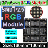 P2.5 Indoor voll farbe modul  HD LED display modul SMD 3in1 RGB LED Displays LED panel
