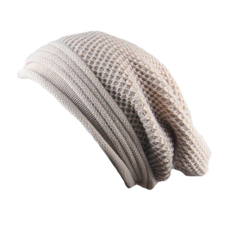 Hot Sale Knitted Beanies Unisex Fashion Knit Hats Autumn and Winter Solid Color Elastic Hip-Hop Cap For Men Women Hat Bonnet skullies hot sale candy colored knit cap sleeve head cap hip hop tide baotou cap 1866717