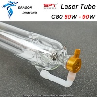 SPT 80W CO2 Laser Tube Length 1600mm Dia. 60mm for CO2 Laser Engraving Cutting Machine