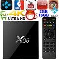 X96 Inteligente Android 6.0 TV Box 2 GB/16 GB Amlogic S905X Quad Core KODI16.1 4 K HDMI Mini PC WiFi DLNA Airplay Miracast Media Player