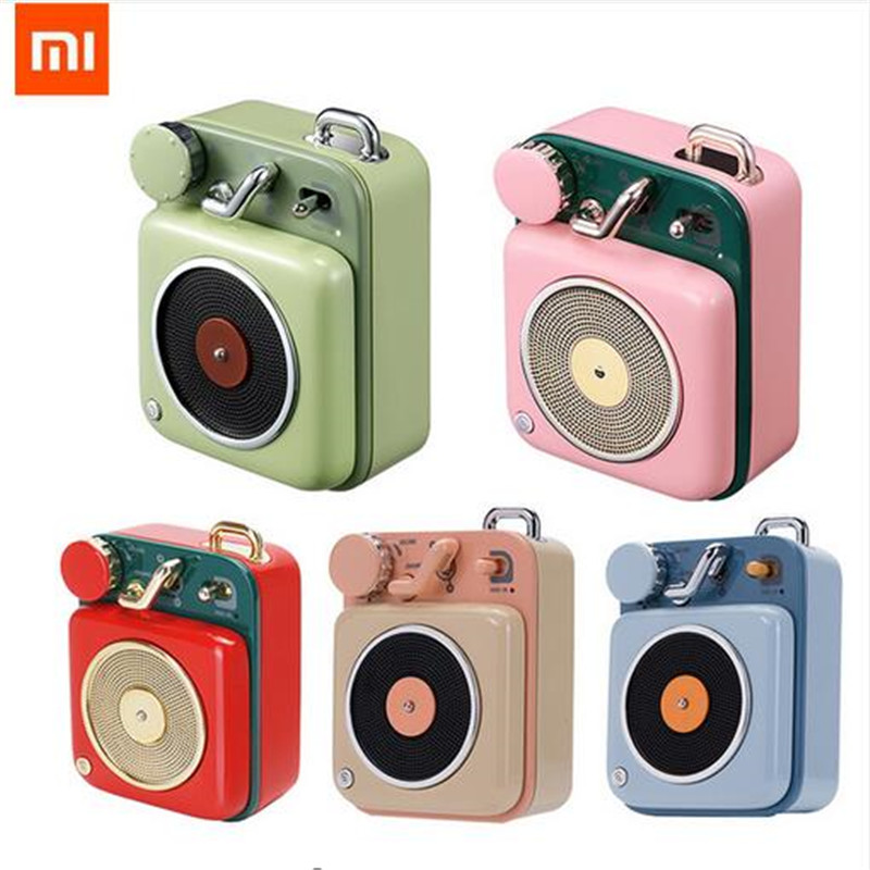 Xiaomi Mijia Cat King Atomic Record Player B612 2 Colors Bluetooth Intelligent Audio Portable Zinc Aluminum