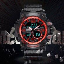 2019 Top luxury brand Mens Watches G Style Waterproof Sports Military Watch Analog Men  Digital Luxury Wristwatch