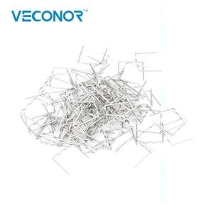 Image 2 - Pack de 500 unids 0.8mm semi grapadora grapas para caliente soldador de plástico máquina de reparación de parachoques