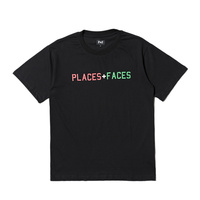 Best Version PLACES FACES Summer Style Women Men Logo Printed T Shirts Tees Hiphop Streetwear P