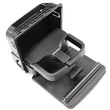 Yaopei 1k0862532 складной центр консоли сзади подстаканник для Volkswagen Гольф 5 6 черный 1k0862533
