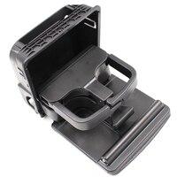 1K0862532 Folding Center Console Rear Cup Holder For Volkswagen Golf 5 6 Black 1K0862533