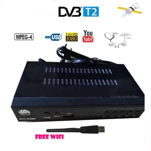 DVB-T2 compatible terrestial signal Receiver dvb t2 supports wifi adapter youtube 1080p carcam dvb t2 adapter