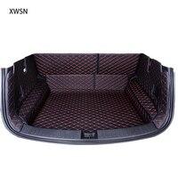 Completamente chiusa stuoia del tronco per mitsubishi outlander xl pajero sport lancer accessori Auto tappeti per auto su
