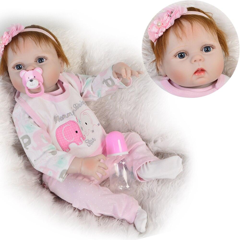 Bébé reborn silicone inteiro boneca reborn 23