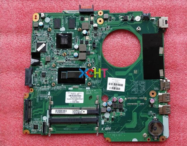 Para HP Pavilion 001 14 N Series 751510 501 751510 751510 601 840 m/2 gb i5 4200U DA0U82MB6D0 Laptop Motherboard Mainboard Testado