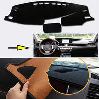 New Interior Dashboard Carpet Photophobism Protective Pad Mat For Lexus ES 2013 2018