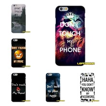 9d23416c7d2 dont touch my phone muggle Accessories Phone Shell Covers For Samsung Galaxy  A3 A5 A7 J1 J2 J3 J5 J7 2015 2016 2017