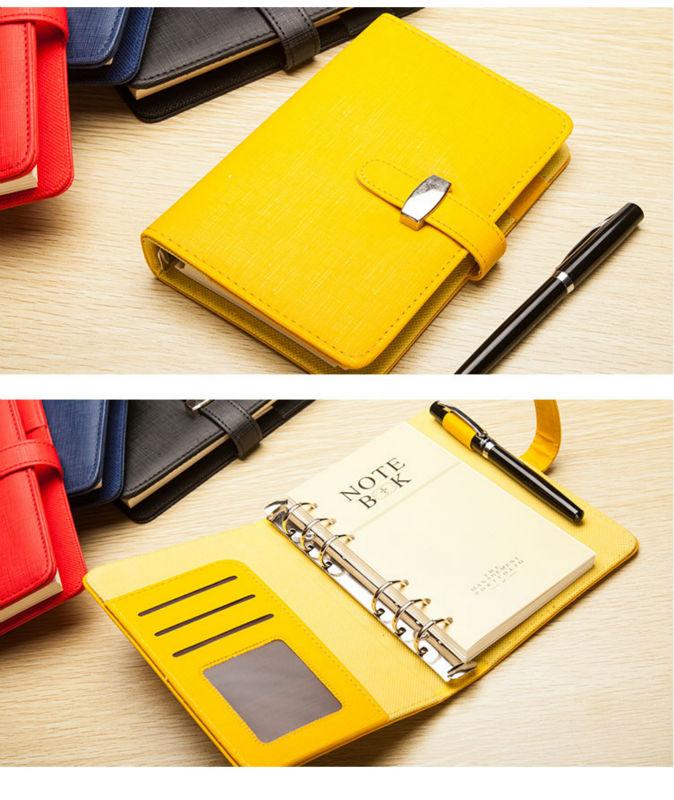Notebooks & Schreibblöcke Ruize Faux Leder Notebook A5 A6 B5 A4 Big Spiral Notebook Planer Agenda Organizer Hard Cover Business Hinweis Buch Schreibwaren Bestellungen Sind Willkommen. Notebooks