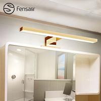 5W 100 240V ABS LED Mirror Lamp Warm Cool White Waterproof Bathroom Light Silver Strip LED