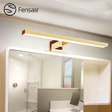 Fensalir AC110V/220V Wall Light Lampara De Pared Simple Fashion 5W Led Indoor Wall Lamp Led Long 30cm Mirror Light ML002-300P