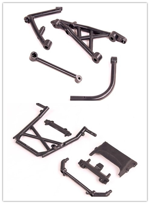 1/5 scale rc baja parts center roll bar set and rear shock tower set for HPI 5B 5T 5SC SS 2.0 Buggy KM Truck image