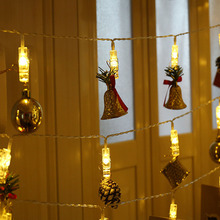 10M /6M /3M 220V EU Plug LED Photo Clip Fairy String Lights Chain Lamp Hang Pictures Party Christmas Garland Decoration