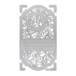 Image 2 - Julyarts новые штампы для высечки металла с кружевным цветком, Трафаретный Скрапбукинг, штампы из металла, Новое поступление, ручная работа, бумажное ремесло, 2019