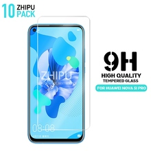 10 Pcs Tempered Glass For Huawei nova 5i Pro Screen Protector 2.5D 9H Protective Film