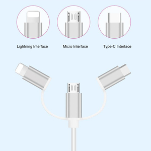 Image 2 - USB to HDMI Cable, Lighting Micro USB Type C to HDMI Plug and Play Convert for iPhone iPad Android Phone Tablet to HDTV