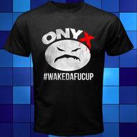 Nowy ONYX WAKEDAFUCUP Rap Hip Hop Muzyka Czarny T-Shirt Rozmiar S M L XL 2XL 3XL