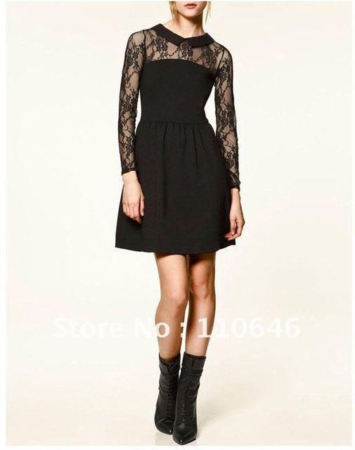 hot sale fashion 2012 vintage lace women dress