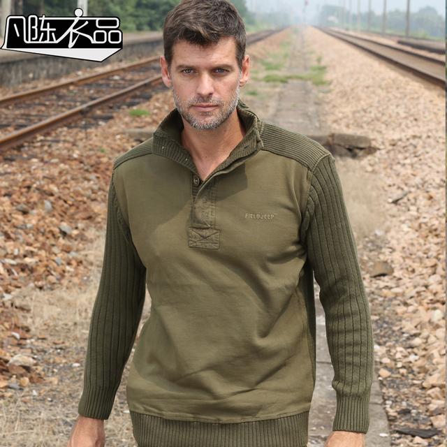 Casuais masculino militar uniforme de inverno espessamento solto de algodão de lazer base de frete grátis