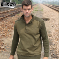 New casual Men's male Military winter uniform thickening loose cotton coat sweater leisure base free shipping