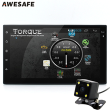 7 pulgadas Universal 2 Din Android 4.4 Del Coche DVD GPS navegación Bluetooth 3G QuadCore 1024*600 Jugador de Radio Auto Estéreo Libre mapa