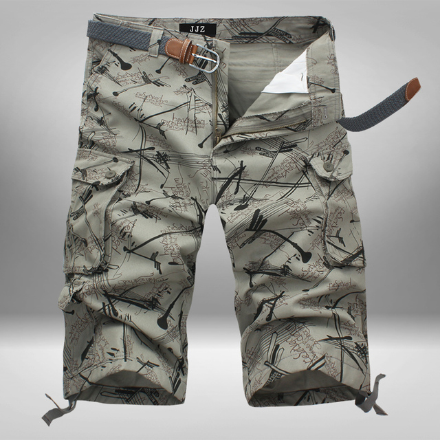 male tooling casual cotton loose camouflage beach short Trousers