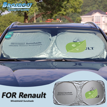 Broshoo лобовое стекло автомобиля с тентом для Renault Megane 2/Scenic 3/Scenic 2/Koleos/Fluence/ Живописные RX4/Captur/Kangoo Escape/Clio