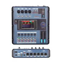 Professional audio DJ system digital mixer Console screen touchable apply for bands concert parties bar concert stage