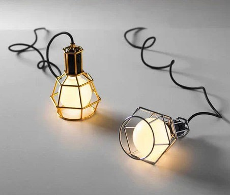 Dia 15cm Design house stockholm classic the trend of lamps iron cages  pendant light Retro bedroom
