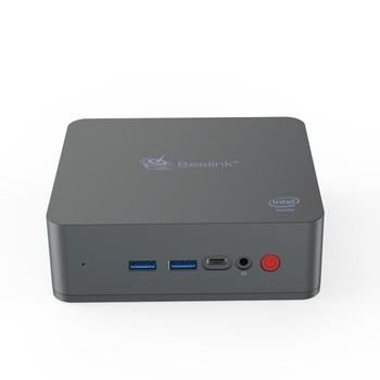 Beelink U55 Mini PC Core I3 5005U HD5500 8GB 256GB dual band WiFi 1000Mbps Bluetooth 4.0 Support Win10 64Bit pocket mini pc 1