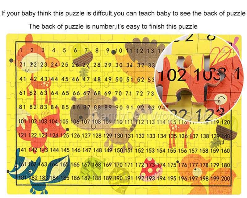 dla cartoon pudełko puzzle 3