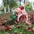 2017The последней моде красивые цветы и букета невесты XF11