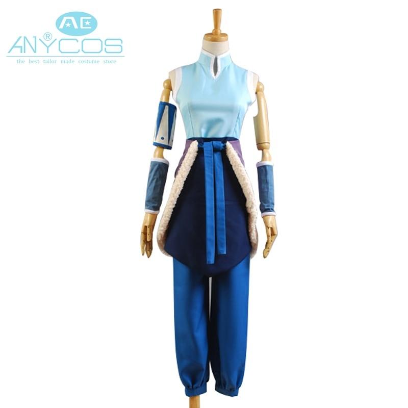 ᐂAvatar La Leyenda de korra Cosplay uniforme falda superior ...