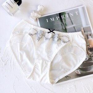 Image 4 - Wriufred, вышитый сетчатый кружевной комплект нижнего белья для женщин, мягкая чашка размера плюс, комплекты бюстгальтеров, треугольная чашка, бюстгальтер без косточек, комплекты нижнего белья