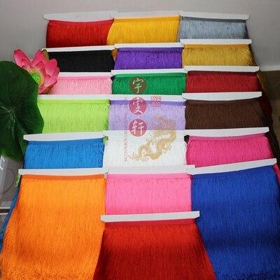 5Yard/Lot 50CM Long Polyester Lace Tassel Fringe Lace Trim Ribbon Sew Latin Dress Stage Garment Curtain DIY Accessories SM028
