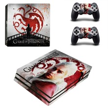 Game of Thrones Winter is Coming PS4 Pro Skin Sticker For PlayStation 4 Pro Console and Controller PS4 Pro Stickers Decal Vinyl